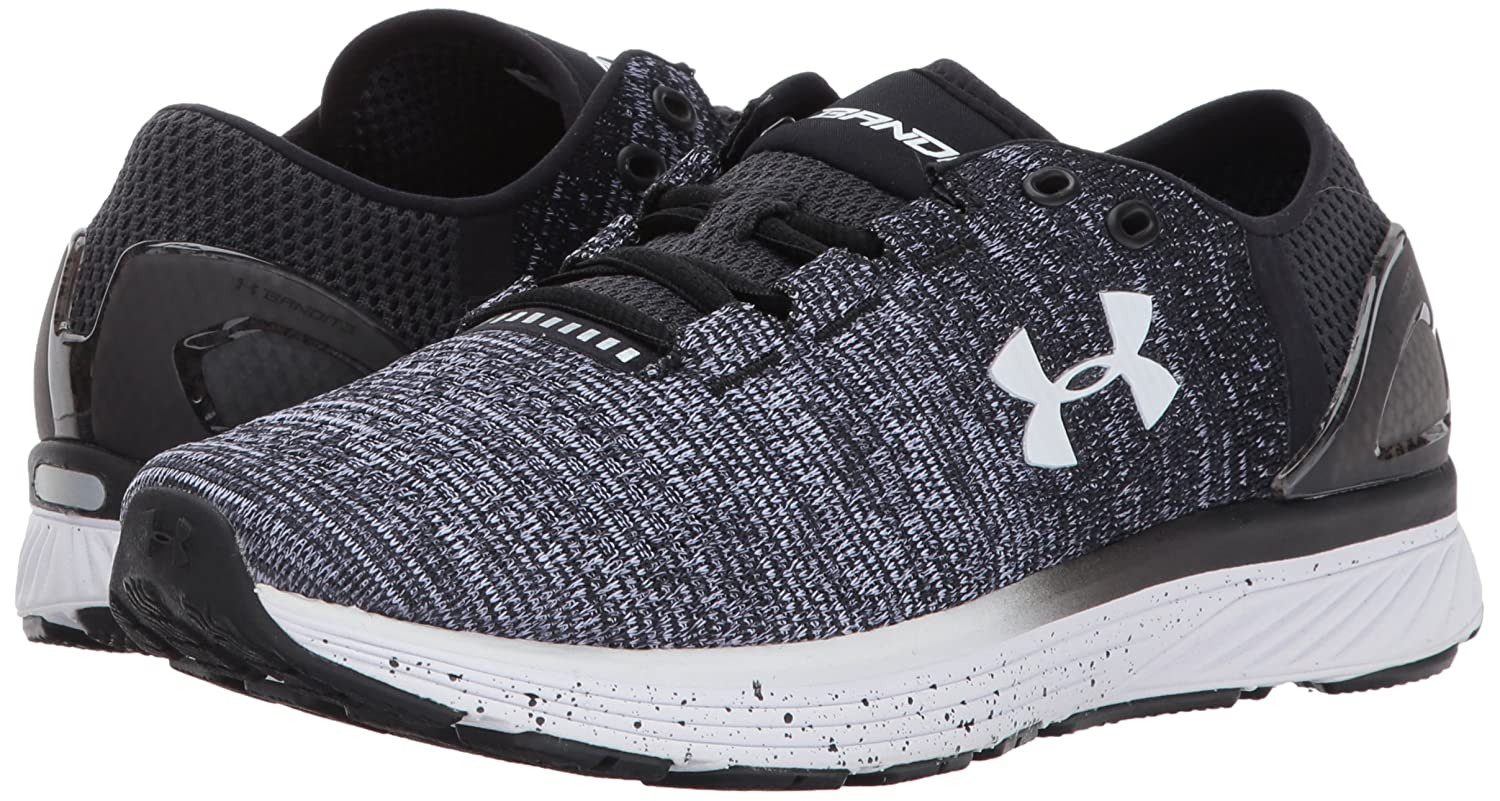 Under Armour Women's Shoe Charged Bandit 3 Running Shoe Women's B01N7GL5A7 8 M US|Black (003)/White 7a684f