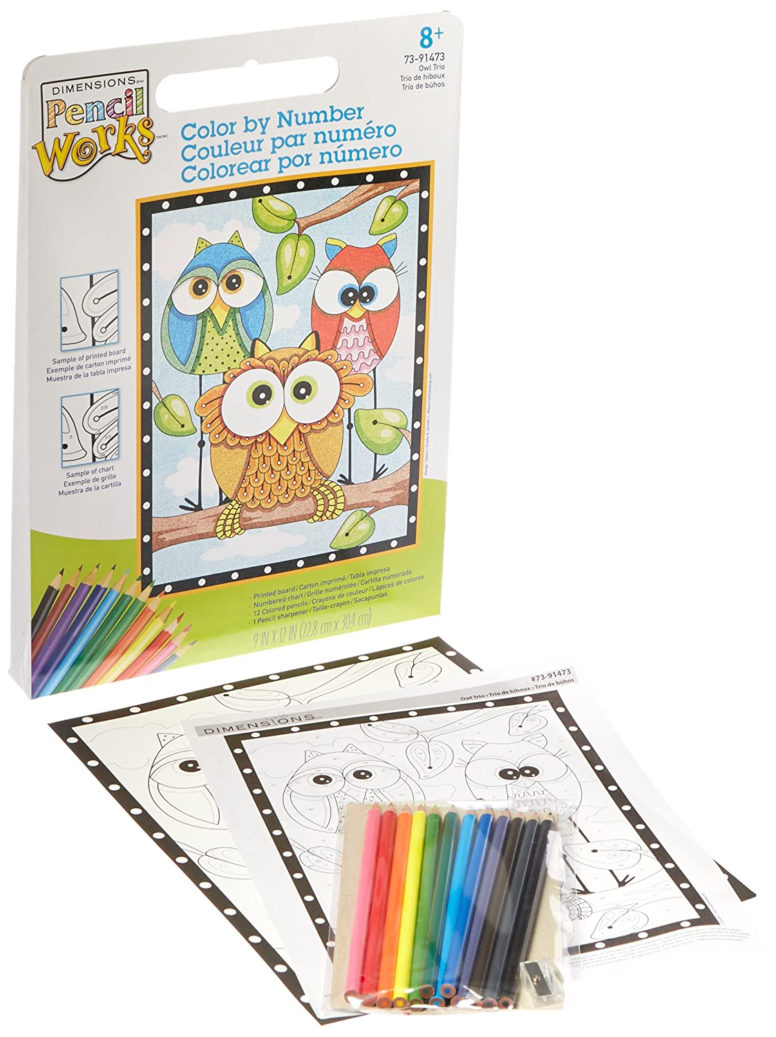 amazon com dimensions crafts 73 91473 pencil works color by