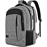 Monsdle Travel Laptop Backpack Anti Theft Water Resistant Backpacks School Computer Bookbag Fits 15.6 Inch Laptop