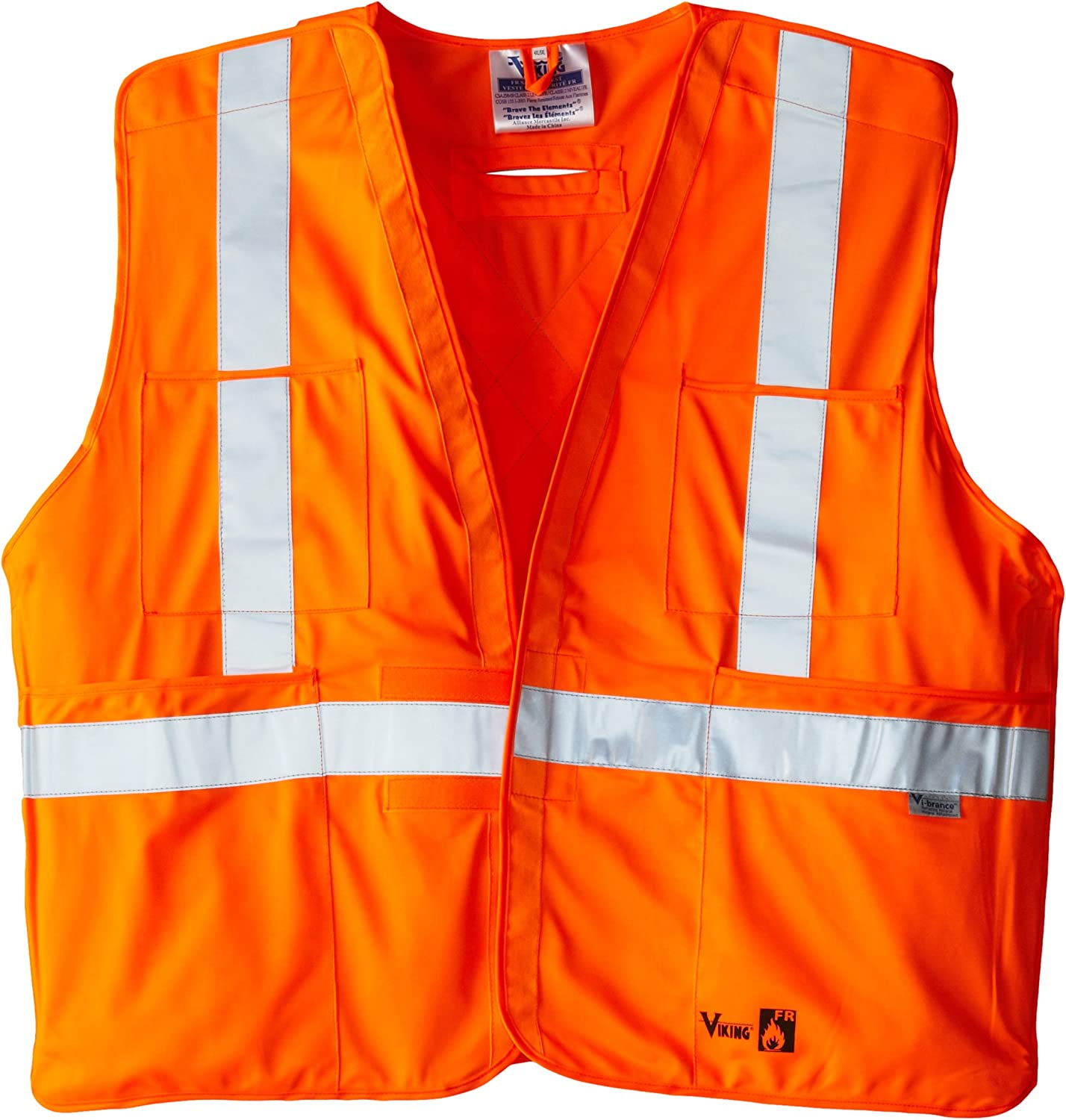 Viking FR Flame Resistant Reflective Vest: Clothing