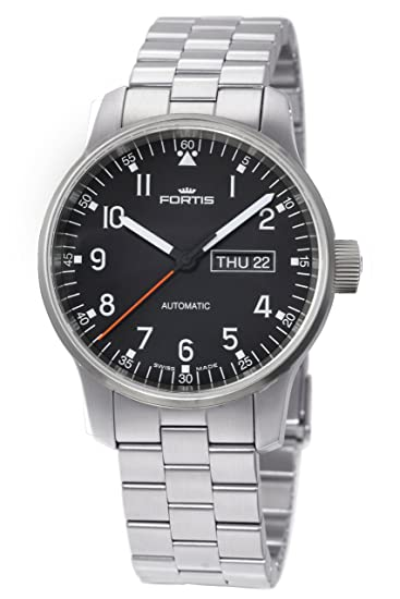 Fortis Reloj los Hombres Spacematic Pilot Professional Automática 623.10.71 M