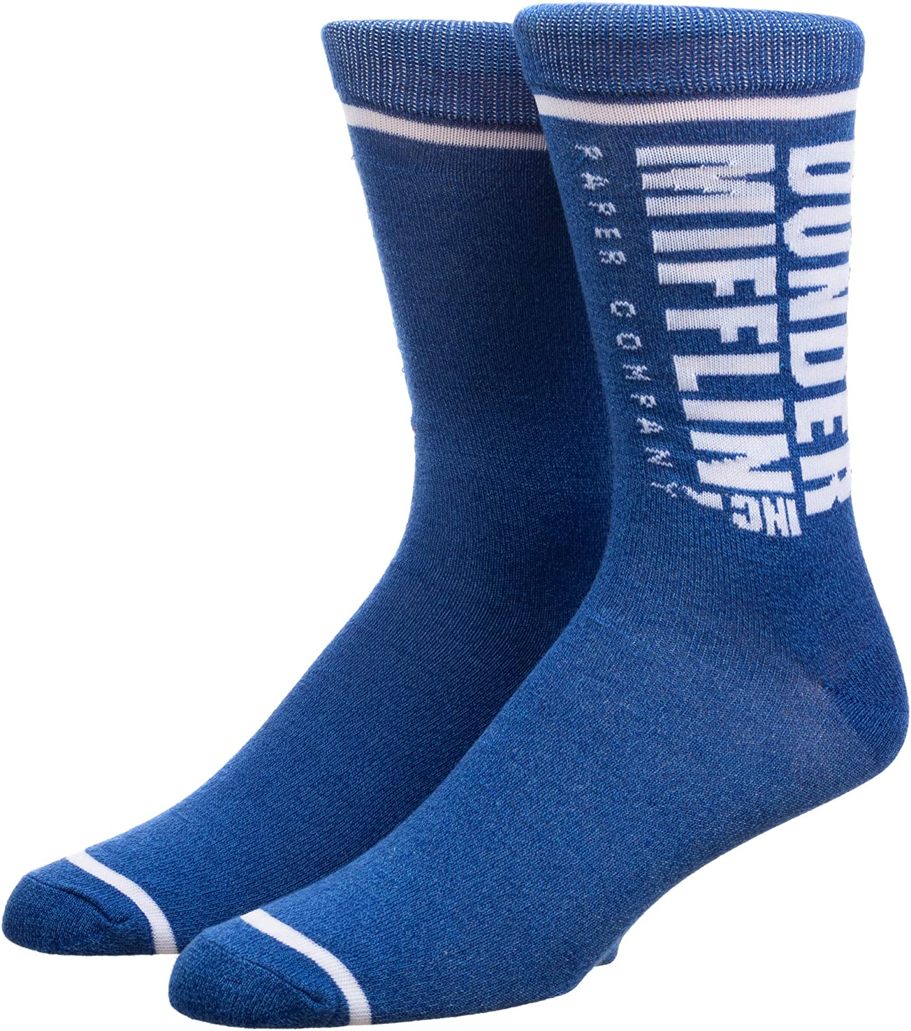 Bioworld The Office Dunder Mifflin Inc Adult Crew Socks