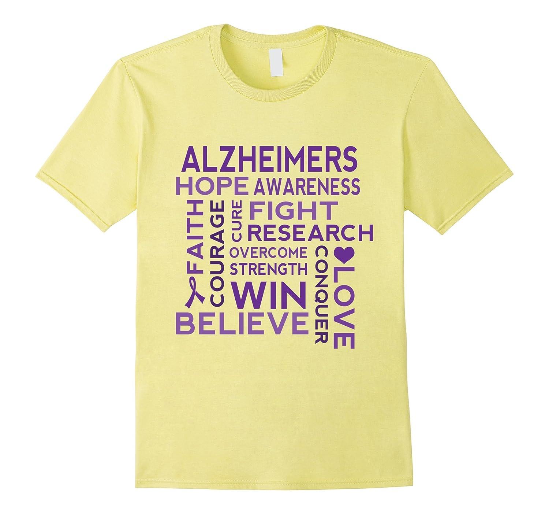 Alzheimers Disease Support Walk T-shirt-BN