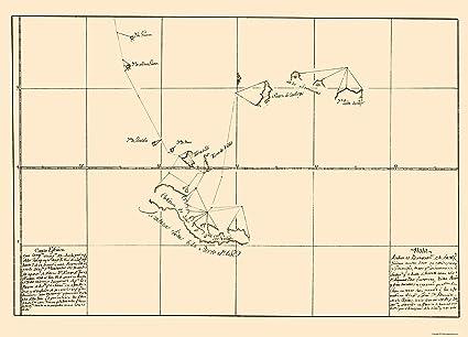 South America Map Galapagos Islands.Amazon Com Old South America Map Galapagos Islands Guerra 1700