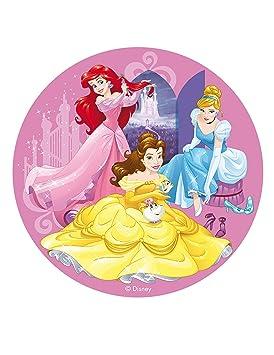 COOLMP - Lote de 12 Discos de azimme Princesas Disney 20 cm ...