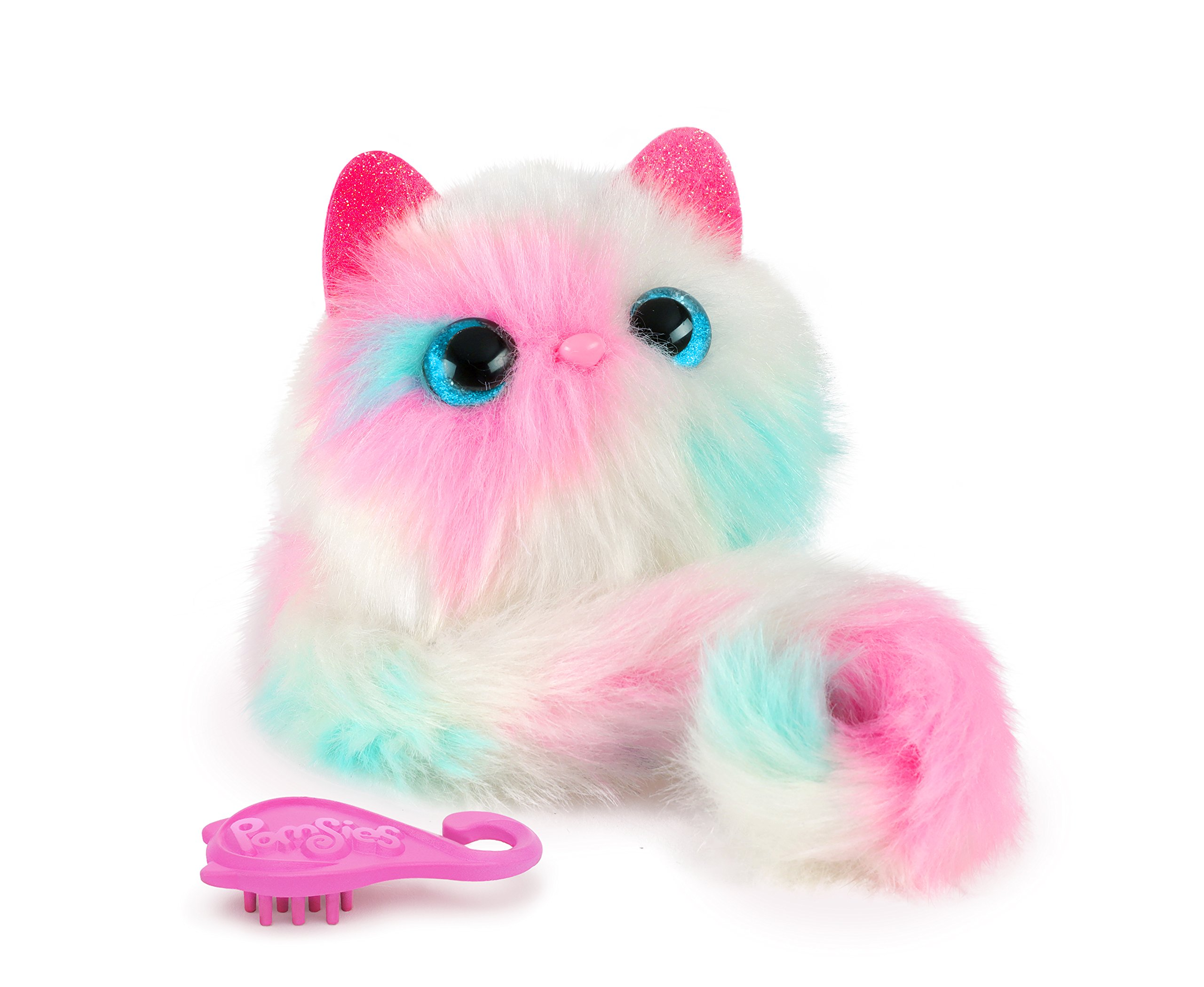 Pomsies Patches Plush Interactive Toys, White/Pink/Mint by Pomsies (Image #4)