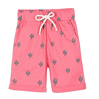 b05cc96485888 Amazon.com: HowJoJo Boys Cotton Shorts Red Short Pants Kids Cartoon Printed  Shorts: Clothing