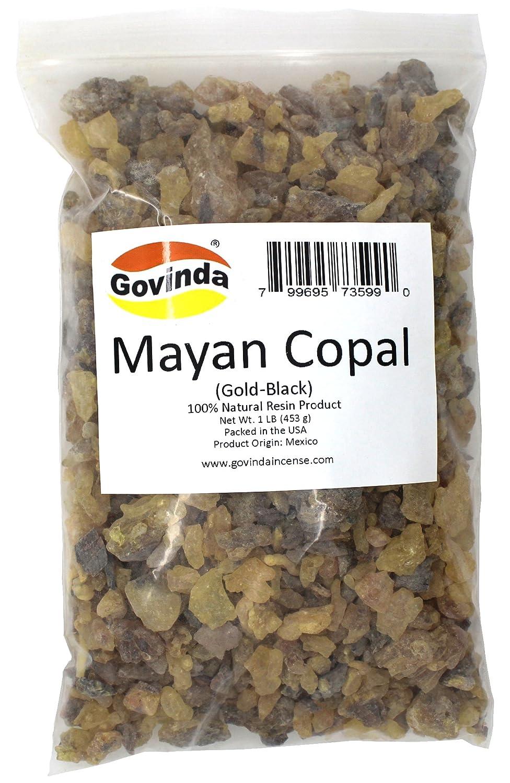 Govinda - Mayan Copal (Gold-Black) Incense Resin 1 lb Govinda®
