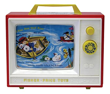 Amazon.com: Fisher Price Classic Two Tune Television: Toys & Games