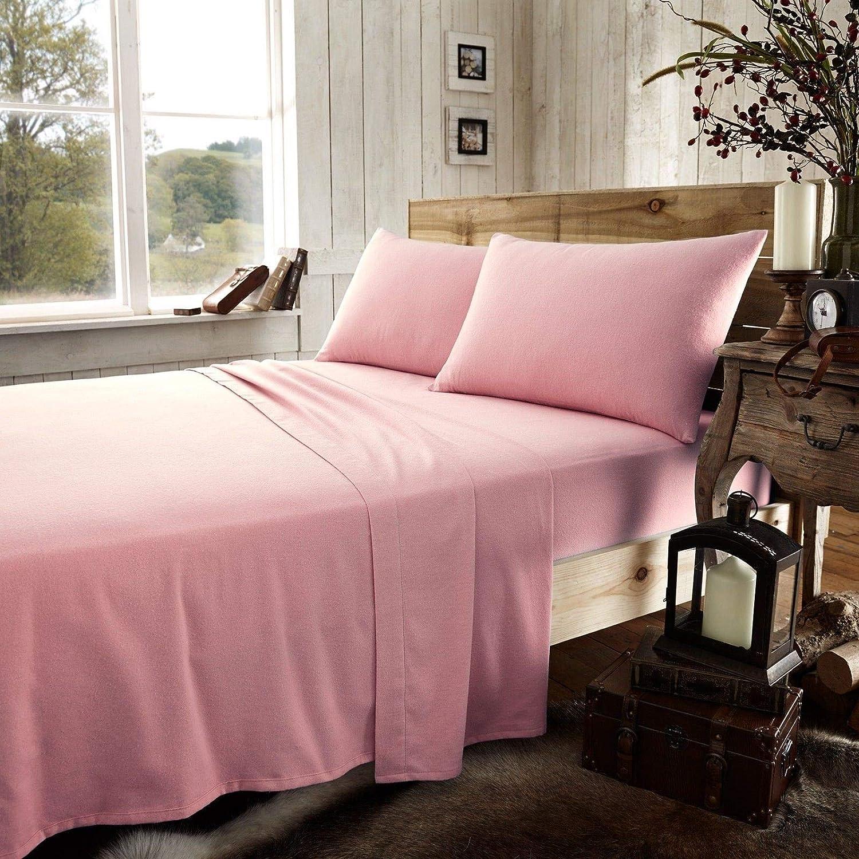 100% franela de algodón Super suave 25 cm de profundidad King cama ...