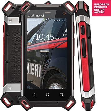 Smartphone Getnord Lynx, IP68, a Prueba de Golpes, Pantalla más ...