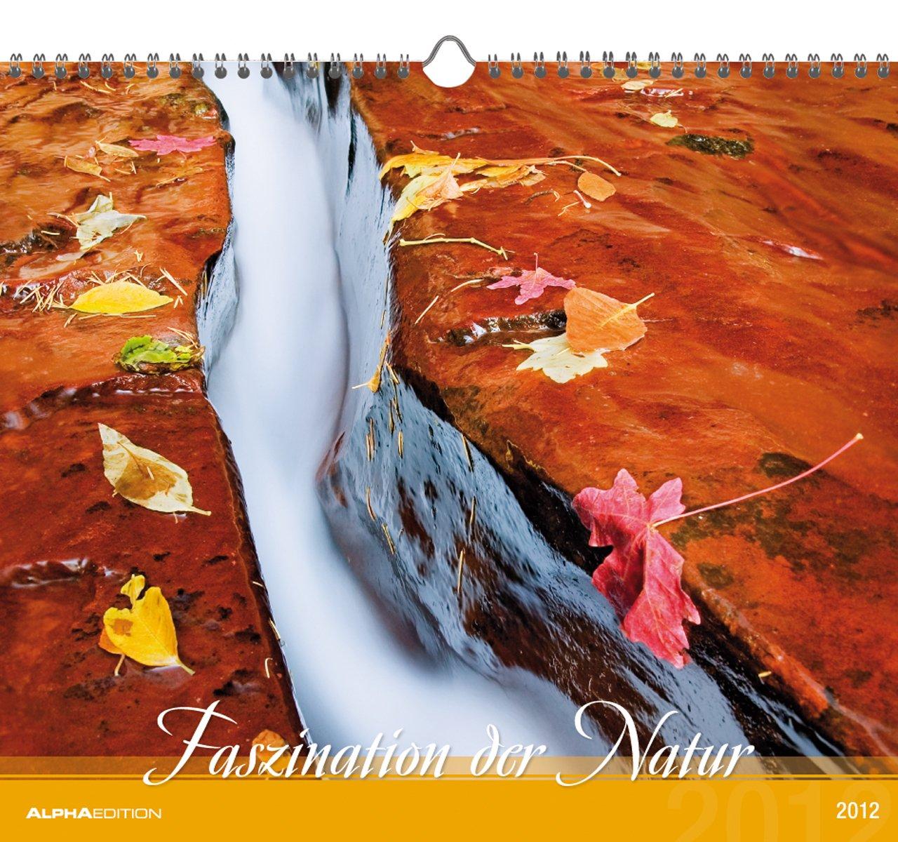 Faszination der Natur 2012. Kalender 33,5 x 29 cm mit Ringbindung