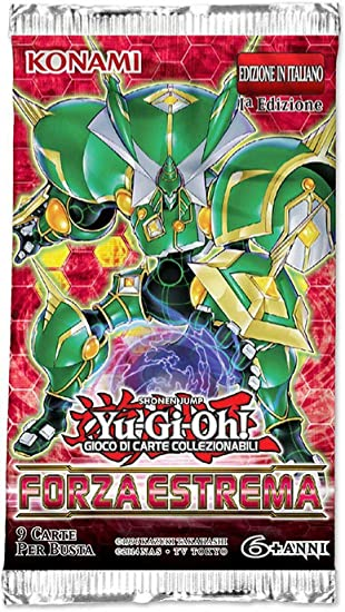 yu-gi-oh Extreme Force - 9 Cards Booster Pack (IT): Amazon.es ...