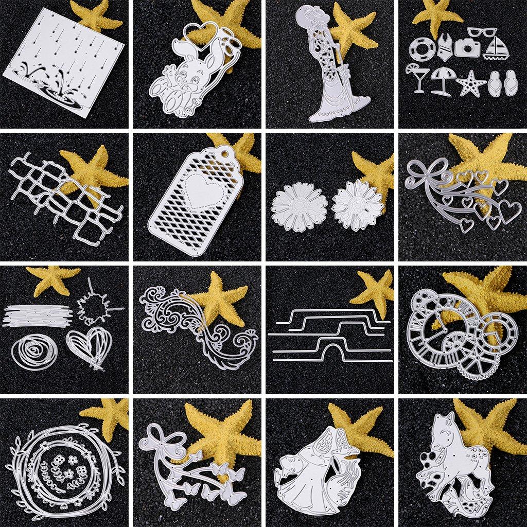 Baoyl Mr Mrs Stanzschablonen aus Metall f/ür Karten Basteln Papierpr/ägung Scrapbooking