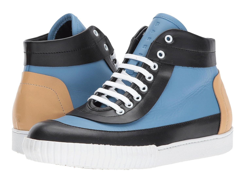 マルニ MARNI メンズ シューズ スニーカー Mid Top Sneaker [並行輸入品] B0799JYLRK