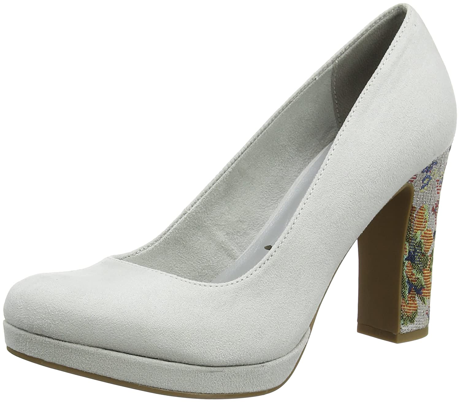 Tamaris Damen 22431 Pumps Grau (Cloud Comb)