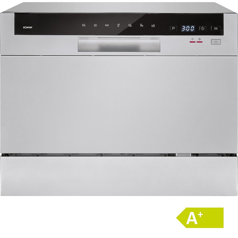 Bomann Tisch-Geschirrspüler 550 mm TSG 709 Energieeffizienzklasse (A+++ - D): A+ Frontlader plata
