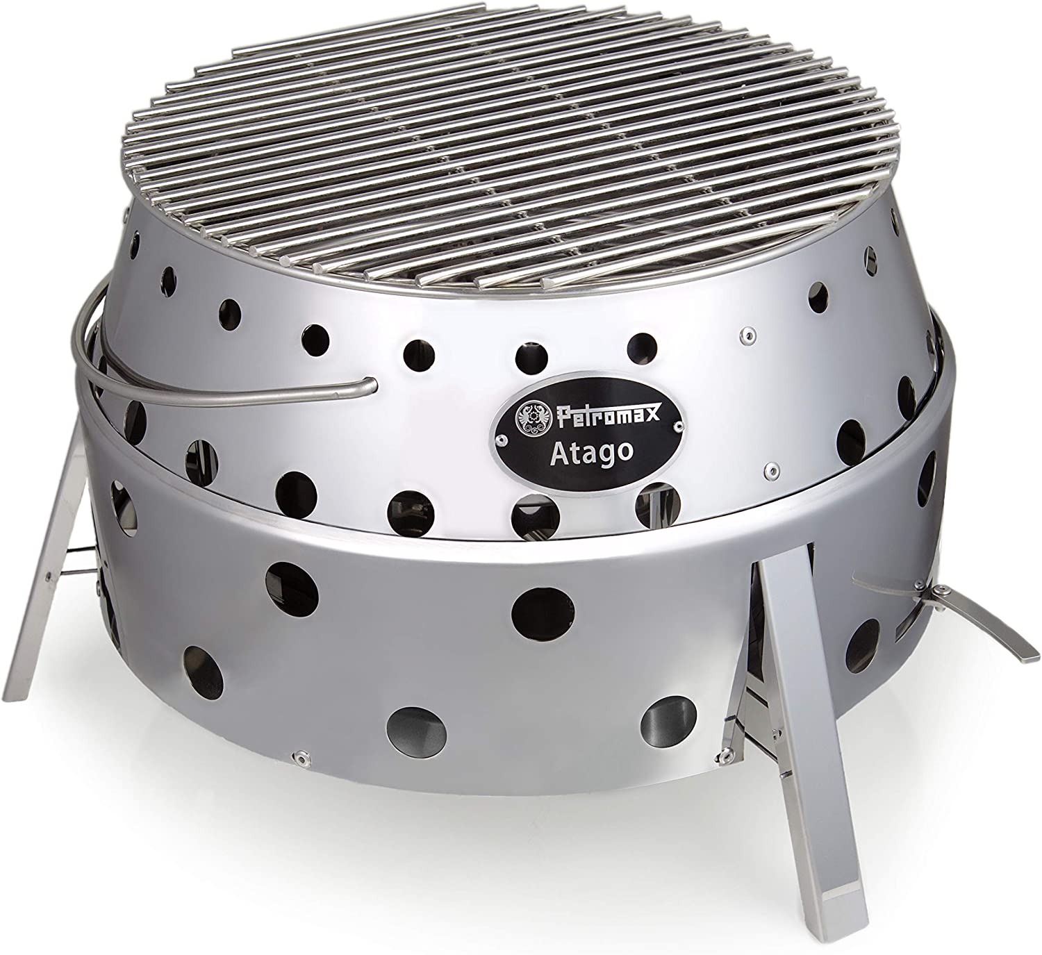 Petromax Atago BBQ Stainless Steel Barbeque /& Fire Pit
