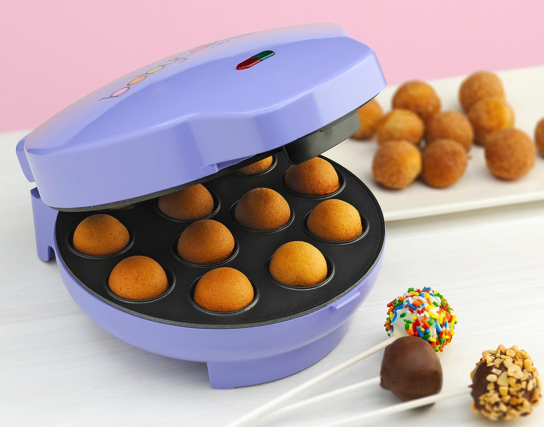 buy babycakes cp 12 cake pop maker 12 cake pop capacity purple
