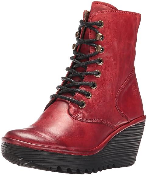 f1bfabfc0af Fly London Ygot - Botines Mujer  Amazon.es  Zapatos y complementos