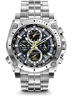 Bulova 96G175 Mens Precisionist Silver Steel Bracelet Chronograph Watch
