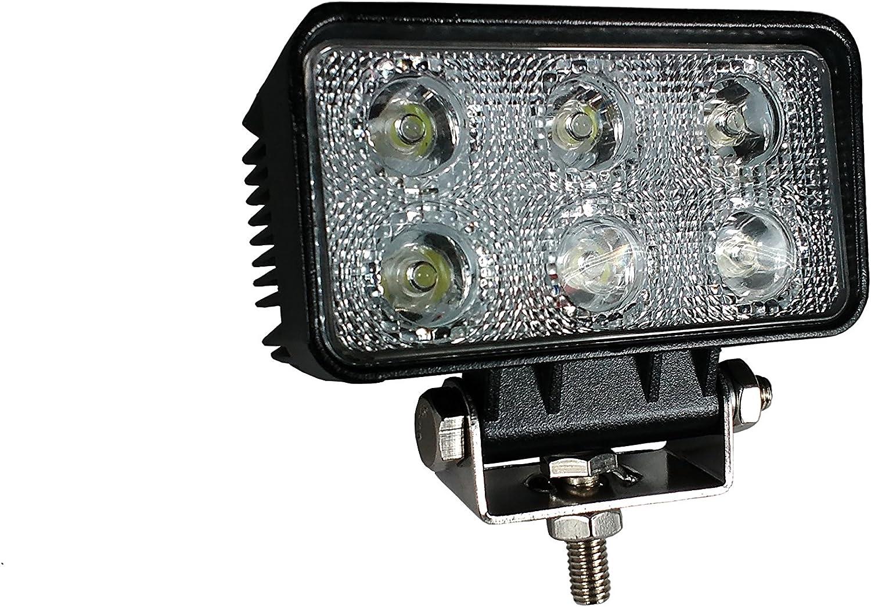 SET OF 2 PCS HIGH POWER ROUND 12V 24V LED WORK LAMP FLOOD LIGHT OFFROAD PICKUP