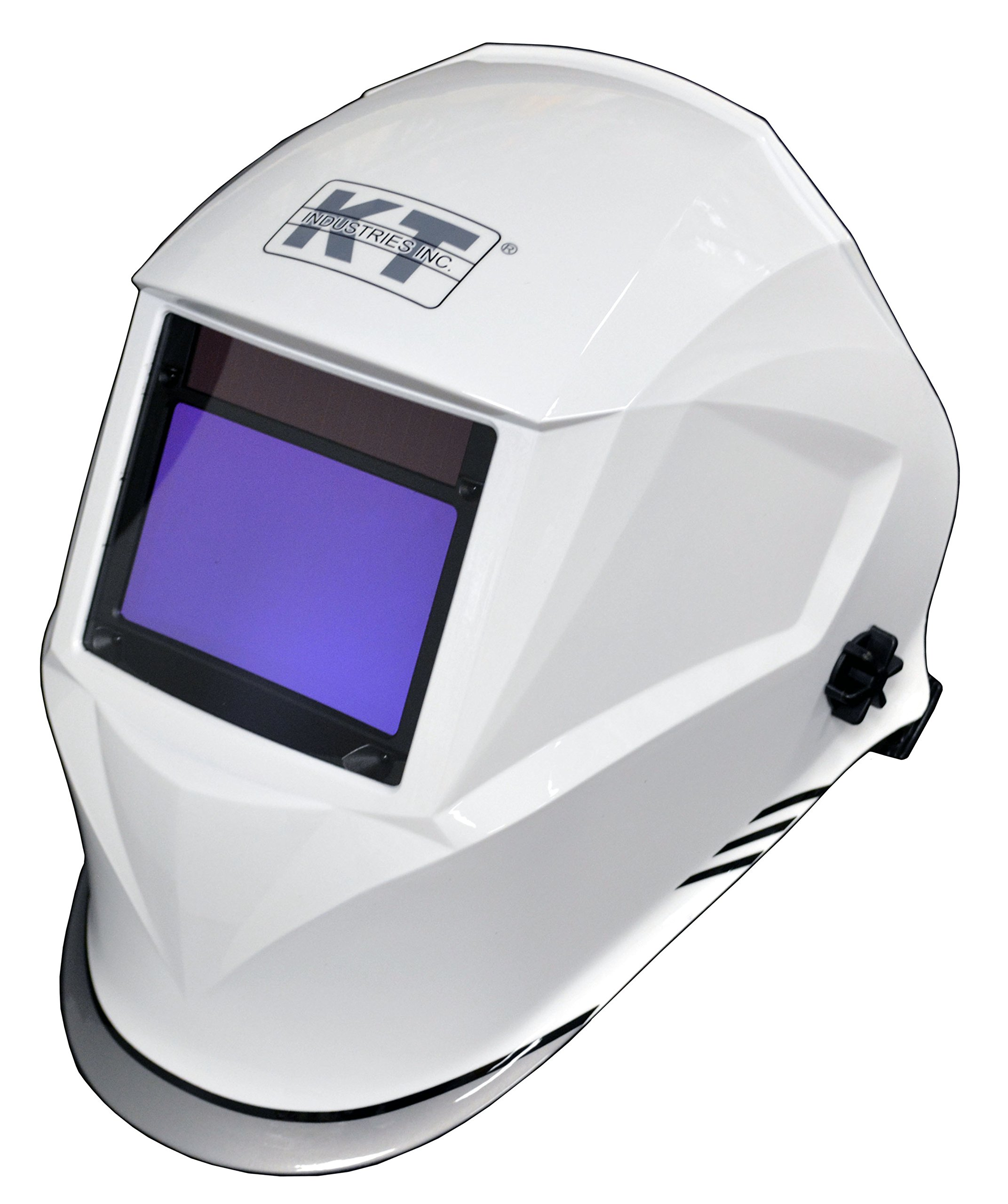 K-T Industries 4-1078 Elite Series ''Cool White'' Auto Darkening Welding Helmet