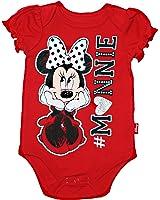 Disney Minnie Mouse Baby Girls Short Sleeve Bodysuit