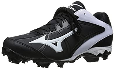99e62b0cd258 Mizuno 9-Spike Advanced Finch Elite 2 Molded Fastpitch Softball Cleat  Black/White 5