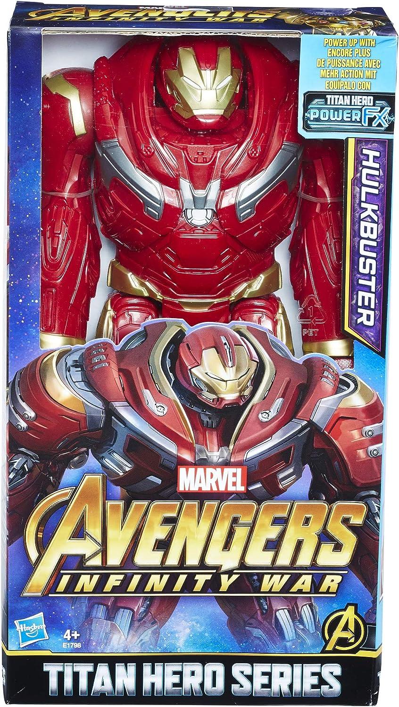 Marvel Avengers- Titan Hero Hulkbuster 30 Cm (Hasbro E1798EU4): Amazon.es: Juguetes y juegos