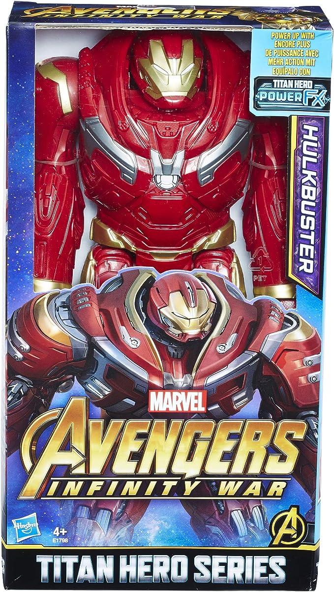 Marvel Avengers- Titan Hero Hulkbuster 30 Cm (Hasbro E1798EU4 ...
