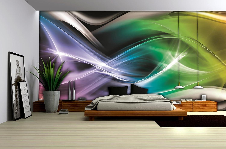 Tiere VLIES Fototapete WANDDEKO XXL Steine Tapete Wohnzimmer Bunt Farbe Abstrakt
