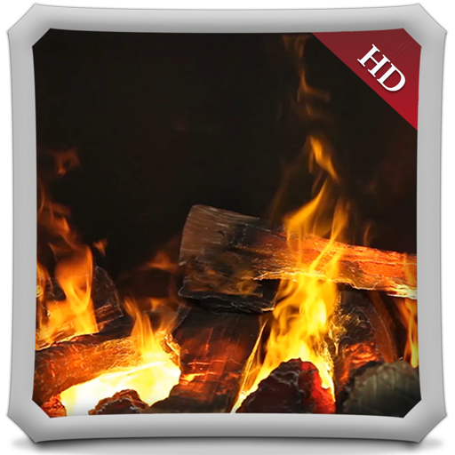 Glary Fireplace HD - Wallpaper & Themes from Rapid Ideas