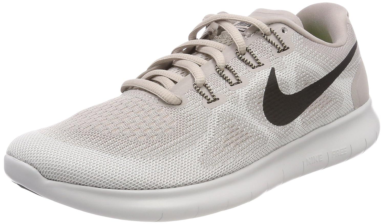 Nike Wmns Free RN 2017, Zapatillas de Entrenamiento para Mujer 42 EU|Beige (Moon Particle/Black-vast Grey-sand 200)
