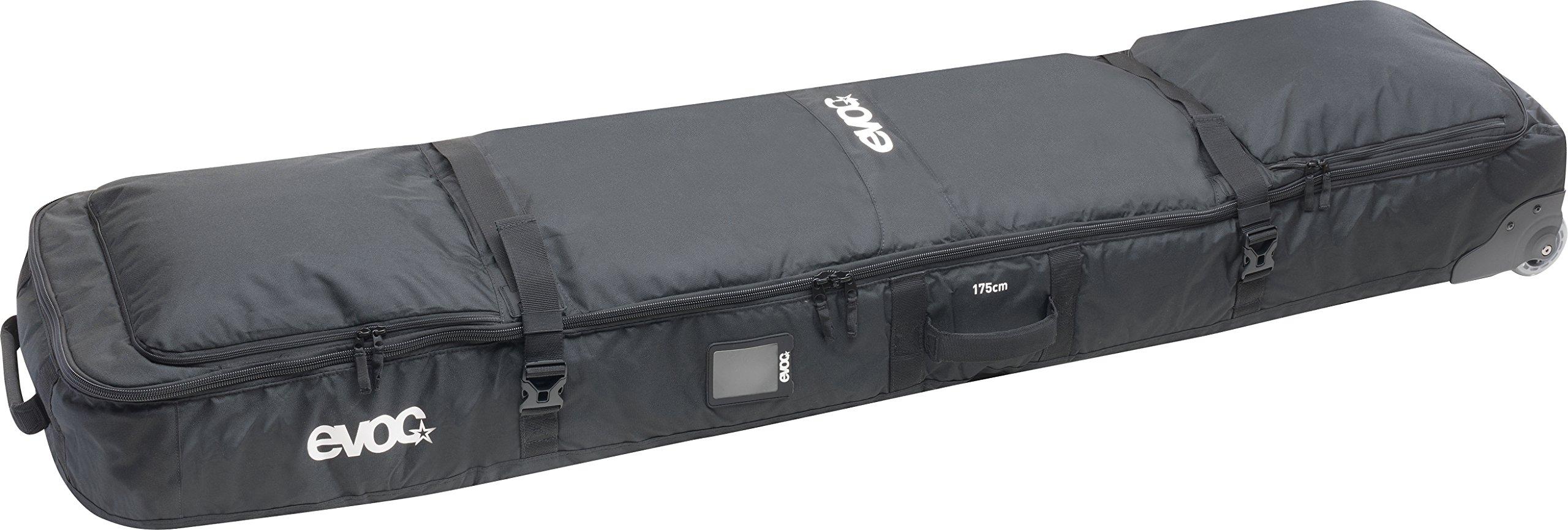 Evoc Black Gear - 110 Litre Snowboarding Roller Bag (L , Black) by Evoc (Image #1)