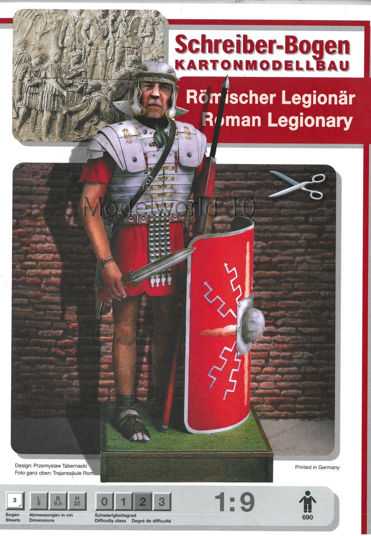 Aue-Verlag 9 x 9 x 22 cm Roman Legionary Model Kit 690