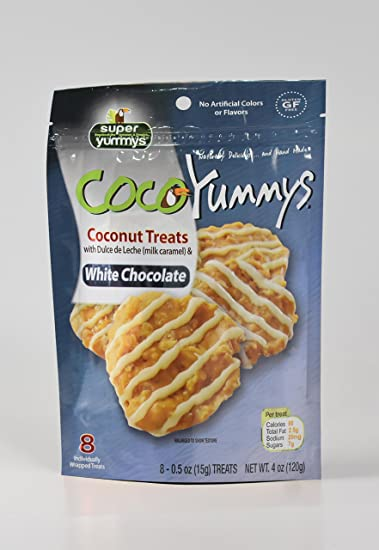 2 Bags of Coco Yummys (White Chocolate)