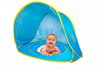Pop Up Baby Beach Tent with Kiddie Pool UV Protection Tent Sun Shelter Play  sc 1 st  Amazon.com & Amazon.com: Pop Up Baby Beach Tent with Kiddie Pool UV Protection ...
