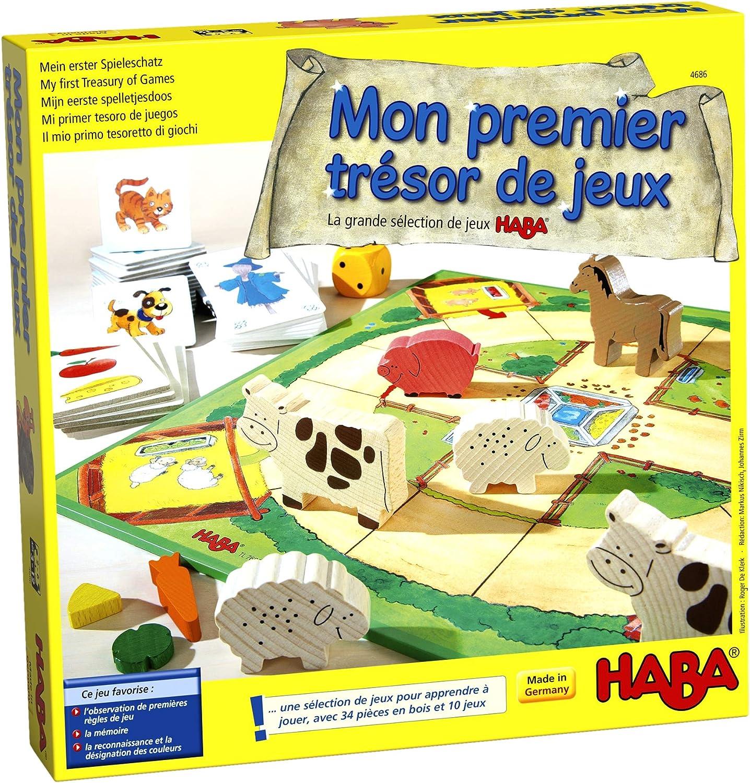 HABA Mon Premier trésor de Jeux 004686 - Juego Infantil (Idioma ...