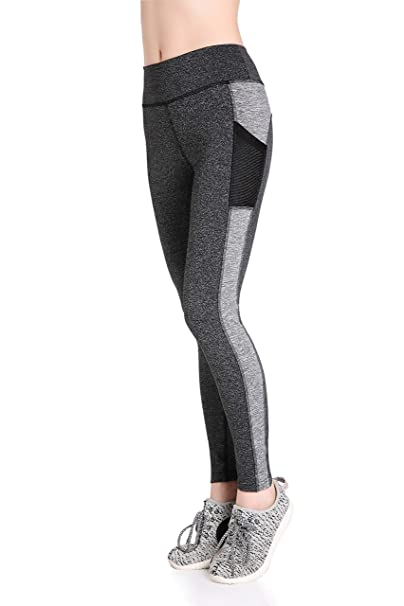 f268b4fcb34ea Amazon.com: Annjoli Women's Yoga Capri Athletic Running Leggings Exercise  Capris Tight Pants: Clothing
