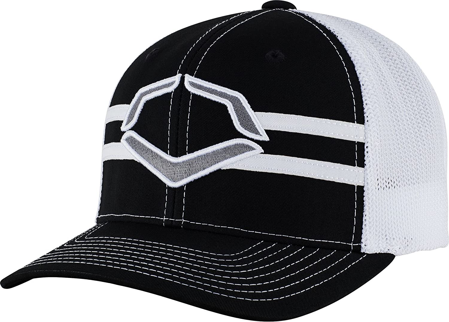 07cd36c98e32d Amazon.com  Wilson Sporting Goods Evoshield USA Logo Flexfit Trucker Hat   Sports   Outdoors