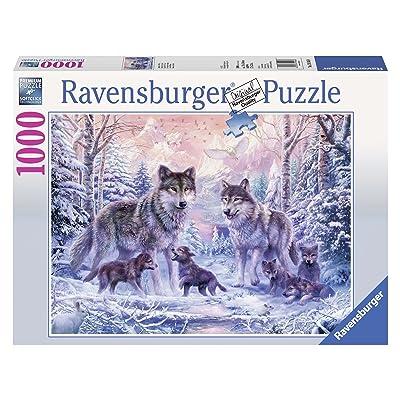 Ravensburger Arctic Wolves Jigsaw Puzzle (1000 Piece): Toys & Games
