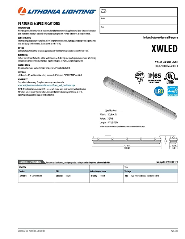 Lithonia Dsx Led Installation And Wiring Diagrams. Lithonia Led ...