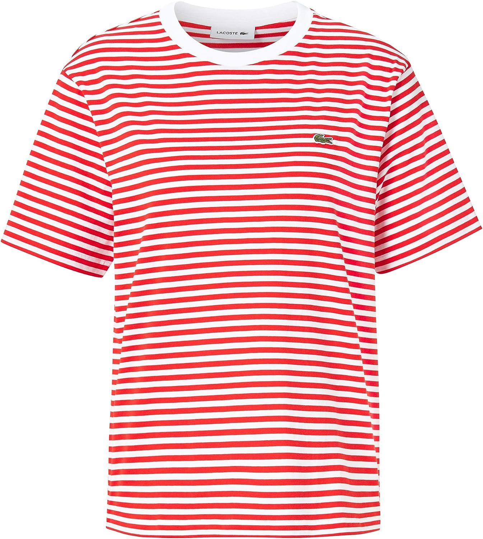 Lacoste - Camiseta para mujer: Amazon.es: Ropa y accesorios