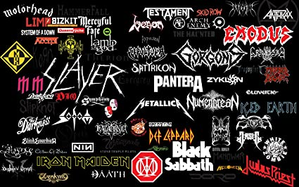 Metal Bands Collage
