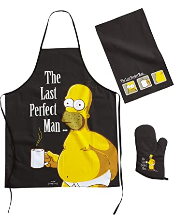 United Labels 0806495 Los Simpson - Juego para barbacoa
