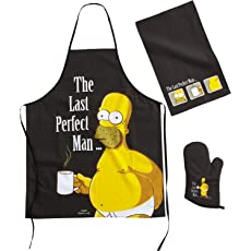 "The Simpsons Cook Set - ""The Last Perfect Man"""