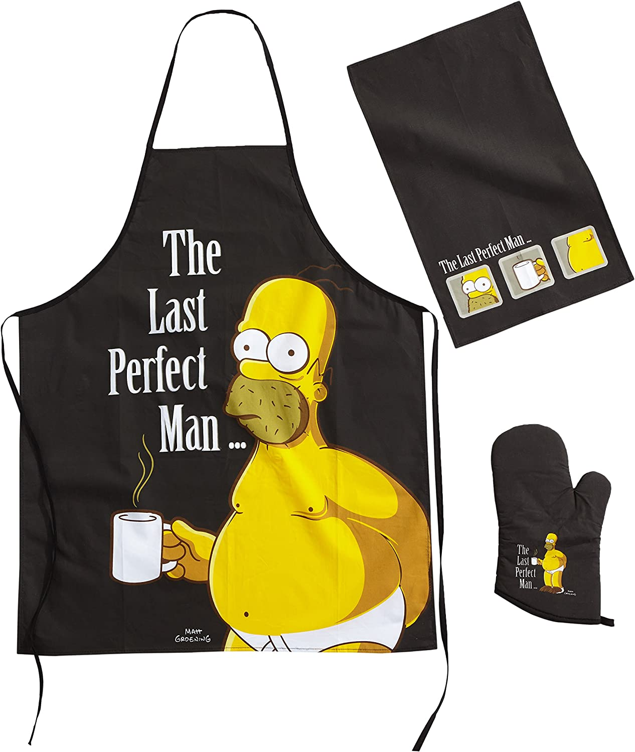 """The Simpsons Cook Set - """"The Last Perfect Man"""""""