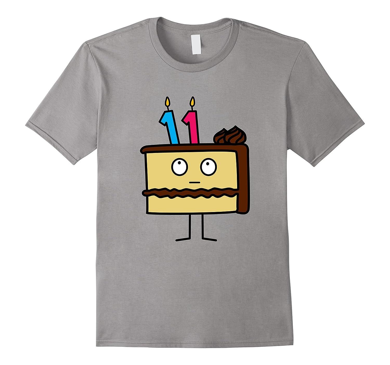 11th Birthday Cake With Candles Icing Chocolate Vanilla Tj Theteejob