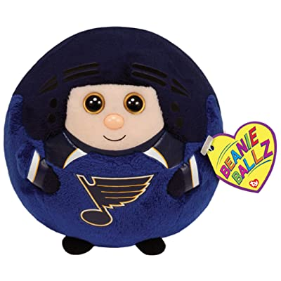 Ty Beanie Ballz St. Louis Blues Plush, NHL: Toys & Games